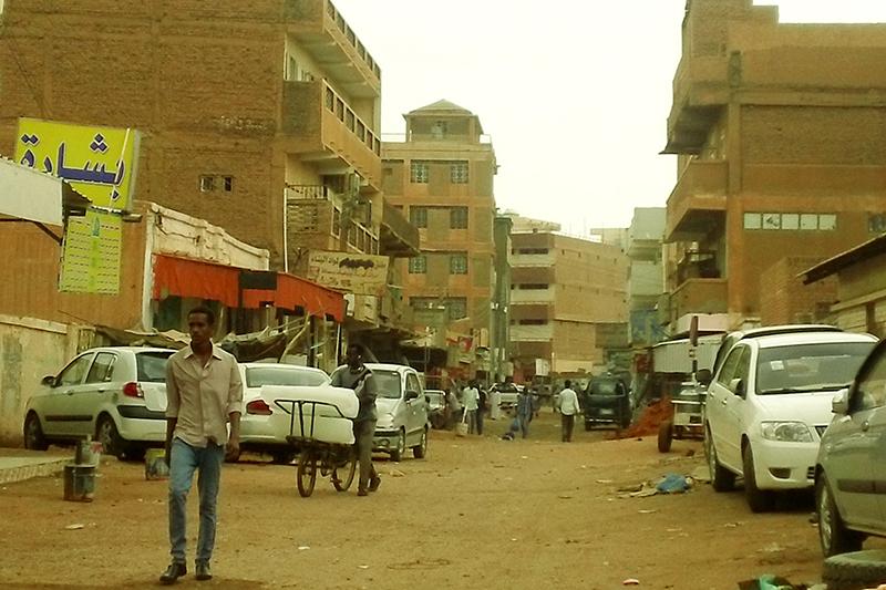 スーダン・エバンジェリカル・スクールがあるスーダン最大の都市オムドゥルマン市内の様子=2015年(写真:ASIM)