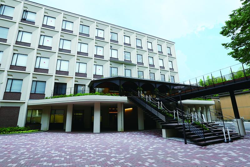 看護学研究科看護学専攻の校舎となる京田辺キャンパスの蒼苑館。(写真:同志社女子大学)