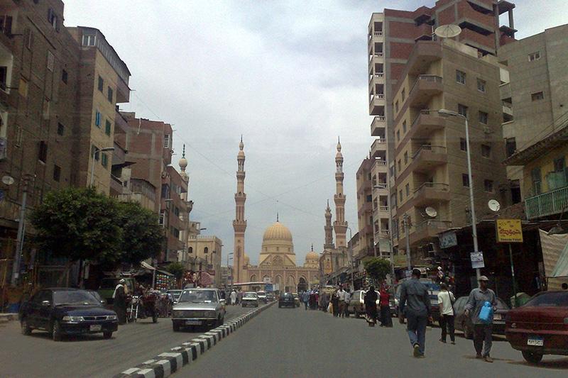 教会爆破事件があったエジプト北部のタンタ市内の様子=2011年5月21日(写真:Faris knight)<br />