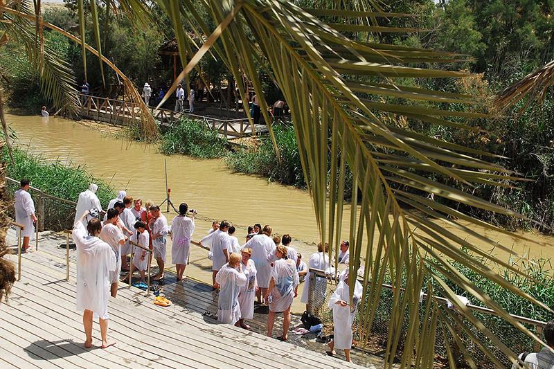 伝統的にイエス・キリストが洗礼を受けたと場所とされているヨルダン川西岸の「カスル・エル・ヤフド」。現在は、イスラエルの管轄下にある。(写真:udi Steinwell)