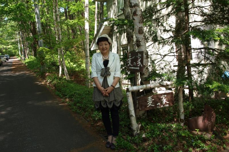 及川尚子さん=20日、長野県小諸市で