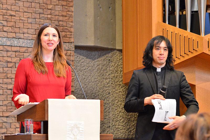 ステファン・ミニストリー創始者が来日 日本ルーテル東京教会で講演