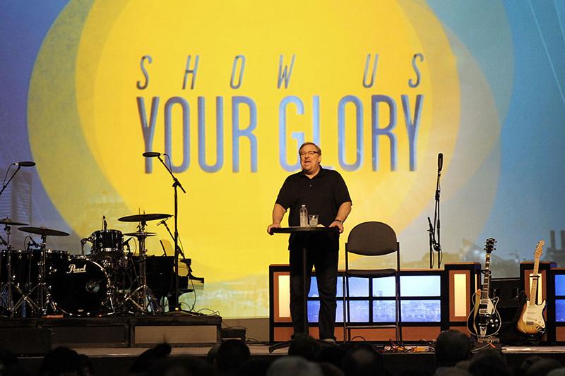 南部バプテスト連盟(SBC)の年次総会で講演するサドルバック教会のリック・ウォレン牧師=2014年6月9日、メリーランド州ボルチモアで(写真:クリスチャンポスト / Sony Hong)