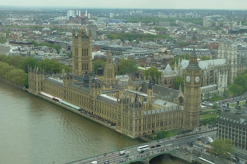 英国会議事堂(ウェストミンスター宮殿)=2012年6月(写真:Gordon Wrigley)