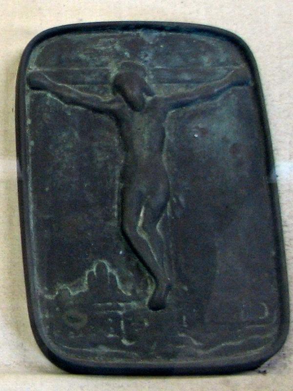 キリシタンを判明するために用いられた江戸時代の踏み絵(写真:Chris 73 / Wikimedia Commons)