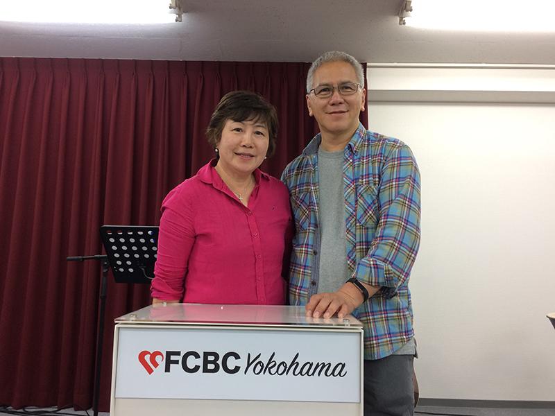 今年4月から横浜で開拓伝道を始めたチャン夫妻