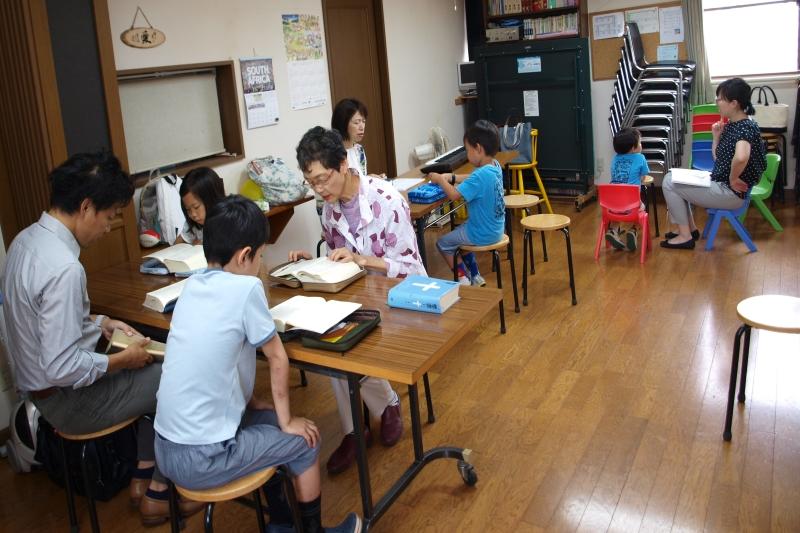 福音によって人生が神の中に加えられていくために 日本同盟基督教団国立キリスト教会 嵐時雄牧師