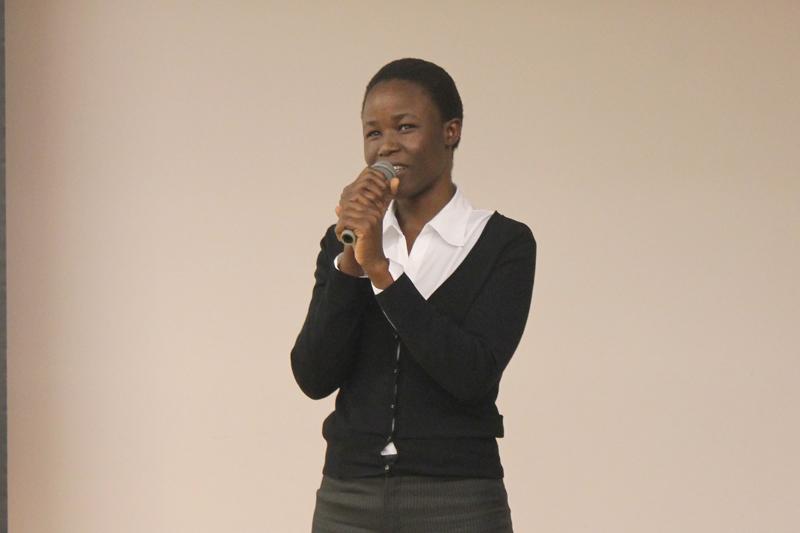 アフリカ最大規模のスラム街で子どもたちに愛を マゴソスクール校長が聖学院大で講演