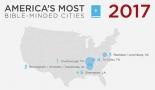 米国の「聖書に熱心な都市」と「聖書に熱心ではない都市」トップ10発表