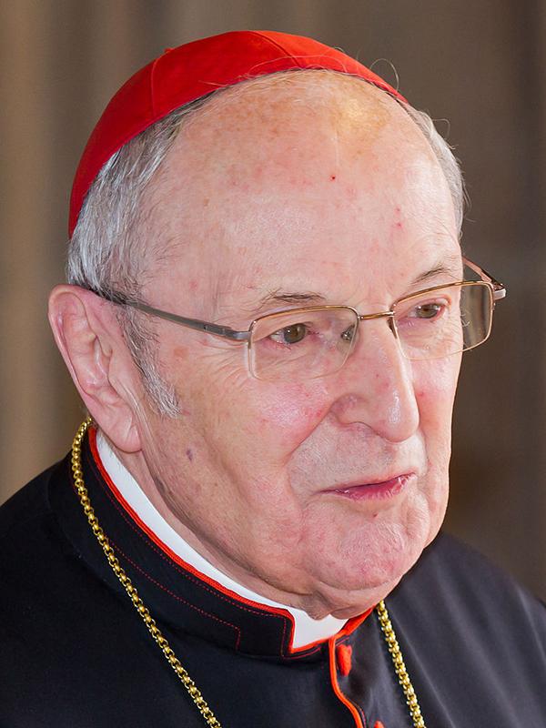 前ケルン大司教のヨアヒム・マイスナー枢機卿=2014年3月27日(写真:Raimond Spekking)