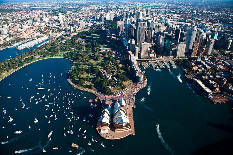 オーストラリア最大の都市シドニー(写真:Pavel)