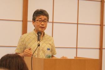 心の中の叫びを自分で書くこと 若松英輔さん講演会「詩を取り戻す」開催