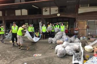 九州豪雨ボランティアの受け入れを九州キリスト災害支援センターが開始