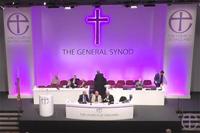 英中部ヨークのヨーク大学を会場にして開かれた英国国教会の総会