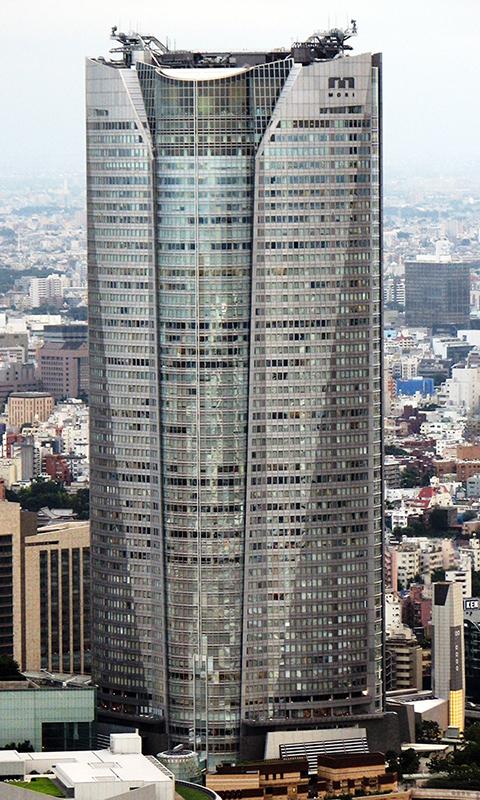 東京都港区の六本木ヒルズ森タワー(写真:Chris 73)