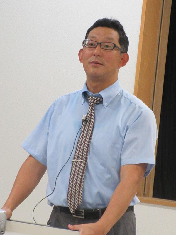 木崎智之氏(写真:日本バプテスト連合東埼玉バプテスト教会提供)<br />