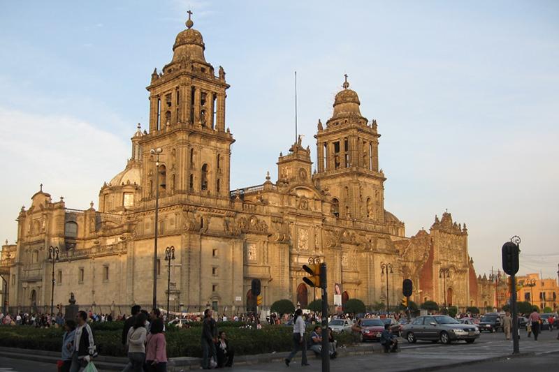 メキシコ市メトロポリタン大聖堂(写真:Juan Fernando Ibarra)
