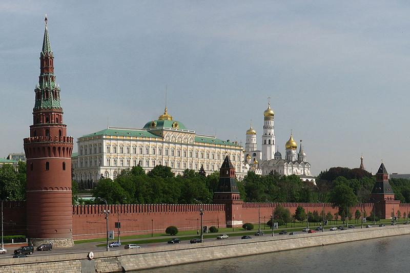 首都モスクワにあるクレムリン(ロシア大統領府)(写真:Julmin)