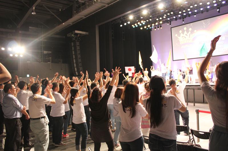 イエスが日本の王であることを宣言! 「ジーザス・レインズ・ジャパン2017」開催(後)