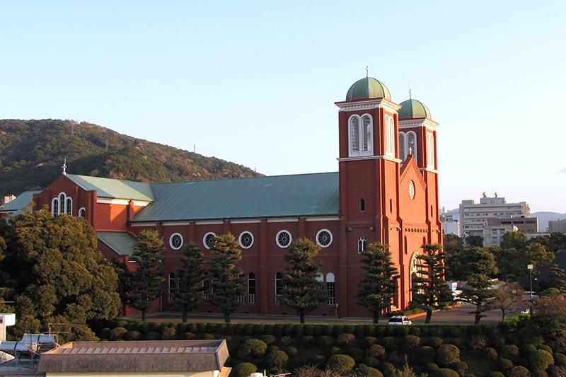 現在の浦上天主堂(写真:Yoshio Kohara)