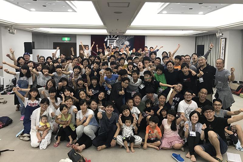 諸教会の若者たちが集まり、心から主を賛美する姿がここに! In Him Camp 2017