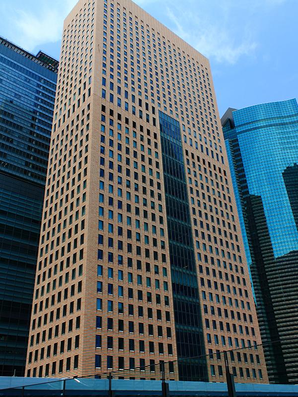 資生堂が本社事務所を置く汐留タワー(写真:Kakidai)