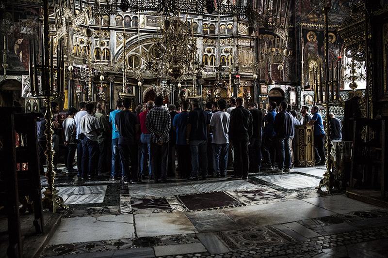 聖山アトス巡礼紀行―アトスの修道士と祈り―(35)写真展「記憶〜祈りのとき」開催へ 中西裕人