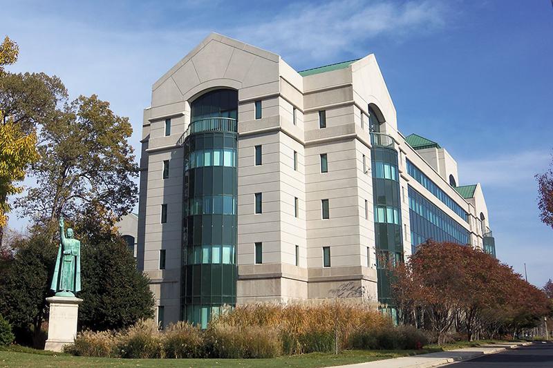 米首都ワシントンにある米国カトリック司教協議会(USCCB)の本部(写真:Farragutful)