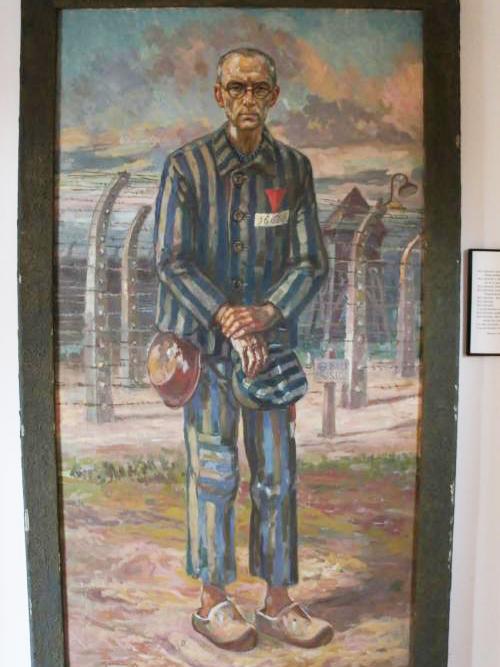 アウシュビッツ収容所でのマキシミリアノ・コルベ神父の想像画