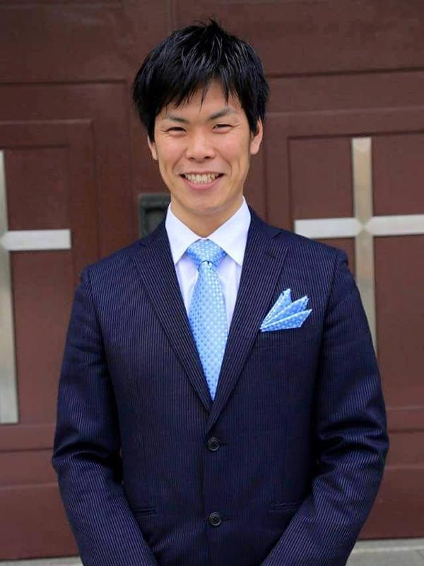 日本ナザレン神学校入学当時の満山浩之さん