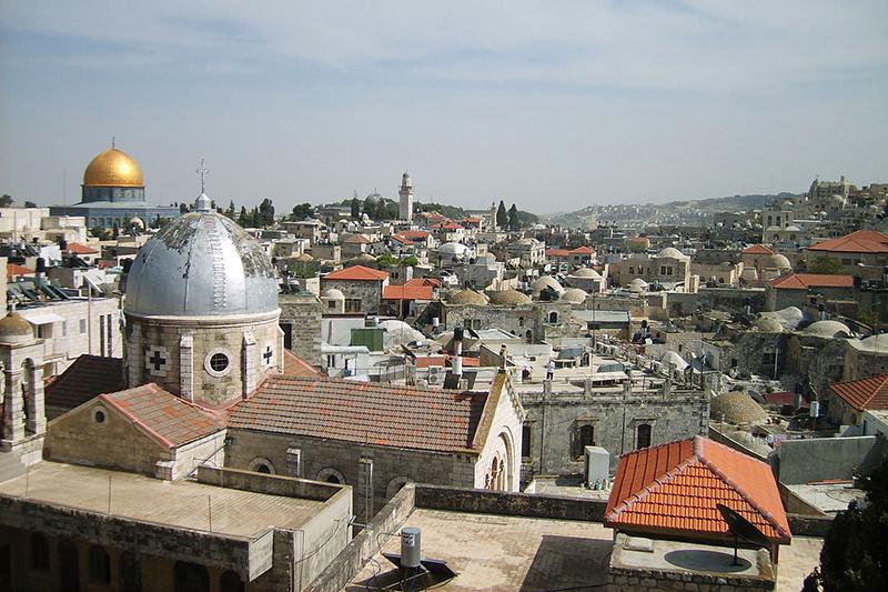 エルサレム旧市街(写真:Gugganij)