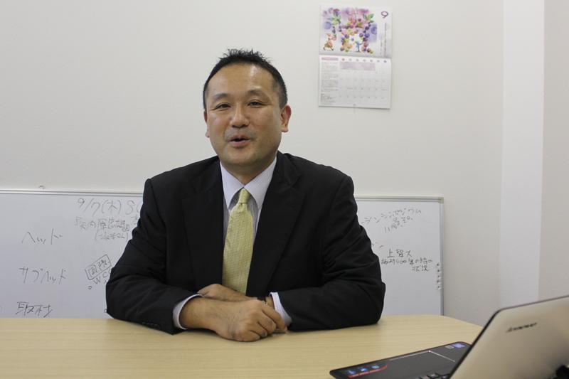 経営コンサルティング会社「バーニングスピリッツ」代表 堺剛さん