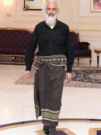 解放されたトーマス・ウズナリル神父(写真:オマーン政府)
