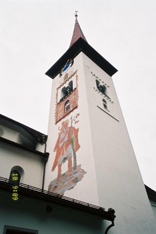 FINE ROAD(58)スイス2回目視察シリーズ⑤ウイリアム・テルのビュルグレンの村の教会 西村晴道