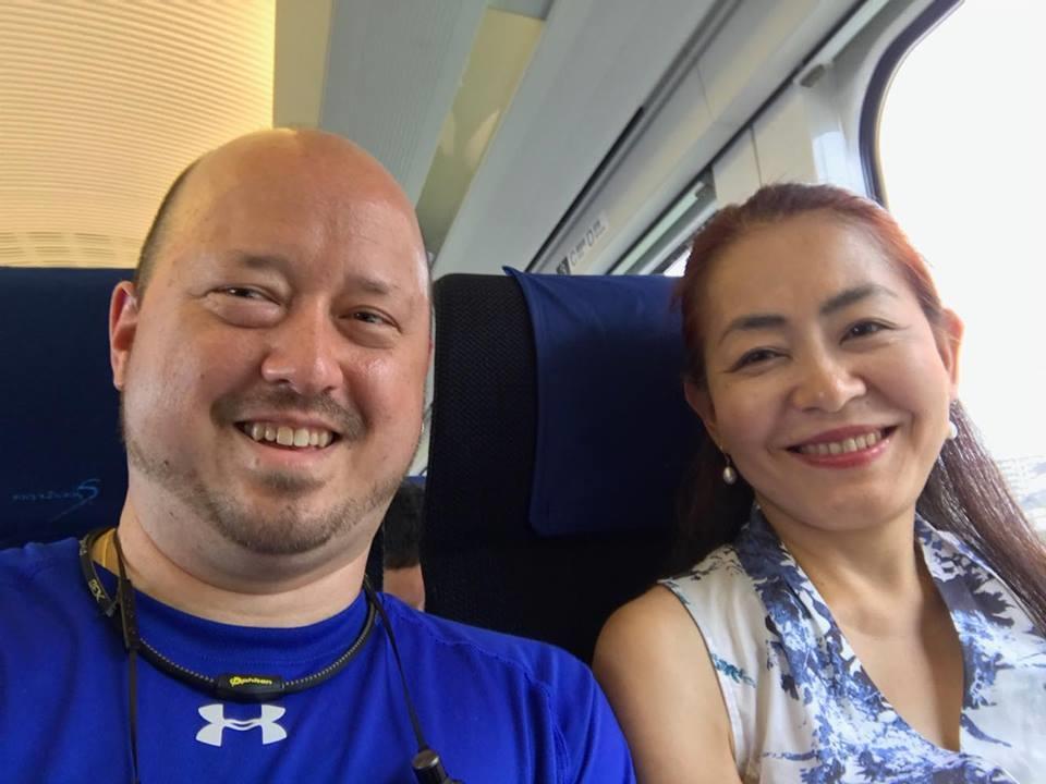 ダニエル・ベックさんと由美子さん