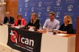 核兵器廃絶訴えるICANにノーベル平和賞 世界教会協議会本部で会見