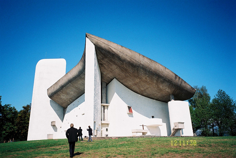 FINE ROAD(59)フランスの教会⑥ロンシャンの「高きところのマリア」教会 西村晴道