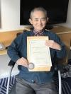 村岡崇光氏が「バーキット・メダル」受賞 アジア出身者で初