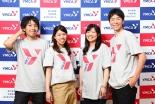 YMCAが新ロゴ、ブランド一新で「ポジティブネット」を提唱
