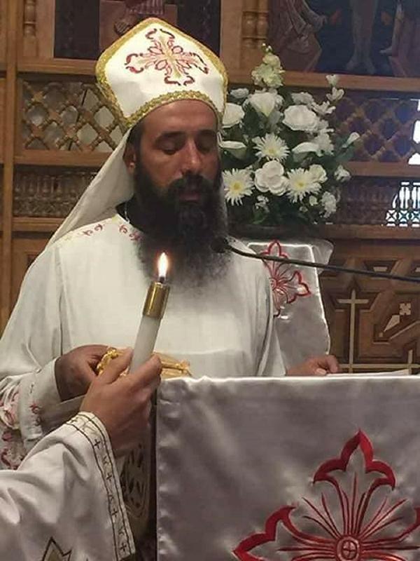 サマーン・シェハタ神父(写真:Coptic Media UK)<br />