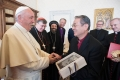 日本聖書協会の渡部信総主事ら、ローマ教皇フランシスコと謁見