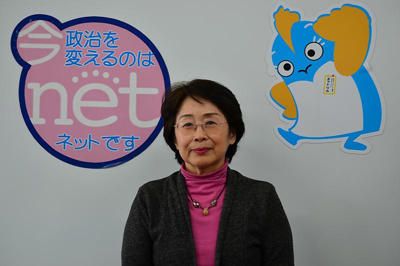 千葉県議会議員の山本友子さん