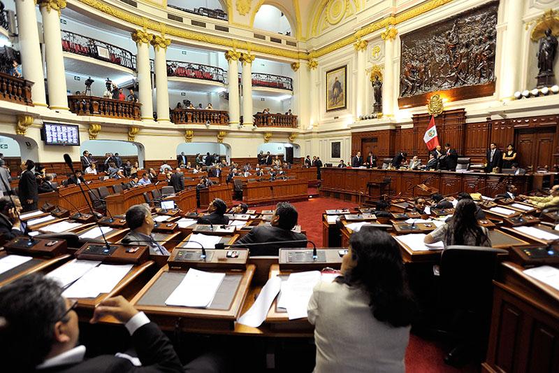 ペルーの共和国議会議事堂。一院制のため、共和国議会が国の唯一の立法機関となっている。(写真:同議会)
