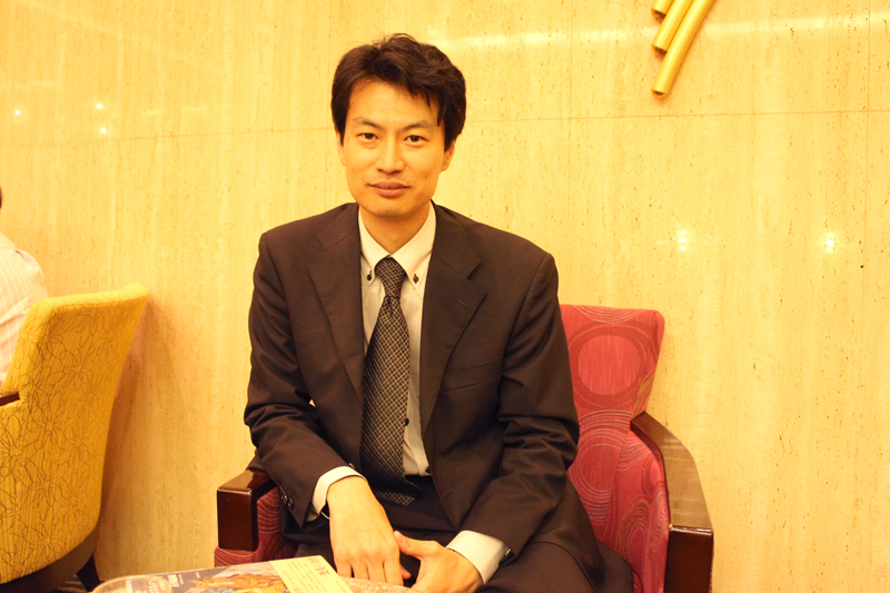 著者の正田倫顕氏