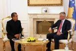 世界福音同盟総主事がコソボ訪問、大統領と会談 「信教の自由」の保護を称賛