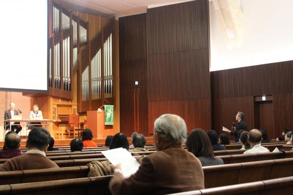 「聖書翻訳の歴史と新翻訳聖書」日本聖書協会の島先克臣氏が講演 青山学院大学で