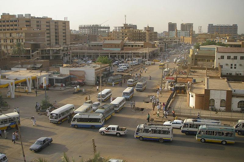 スーダンの首都ハルツームの様子=2006年4月(写真:ニュージーランド国防軍)