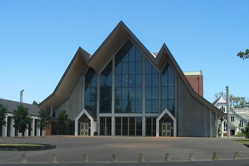 ニュージーランド・オークランドにあるホーリートリニティー大聖堂(聖公会)=2006年<br />