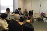 映画「地の塩 山室軍平」の東條政利監督が、東京キリストの教会(東京・渋谷区)の礼拝に参加。改めて映画に込めたメッセージを伝えた。