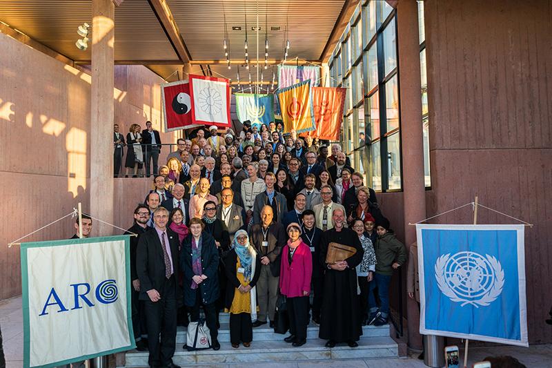 宗教環境保護同盟(ARC)主催の国際会議「金融における信仰」の参加者=10月31日、スイス・ツークで(写真:SIIA / Timothy Christensen)